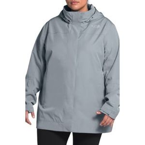 NWT Size 1X North Face Waterproof & Windproof Coat